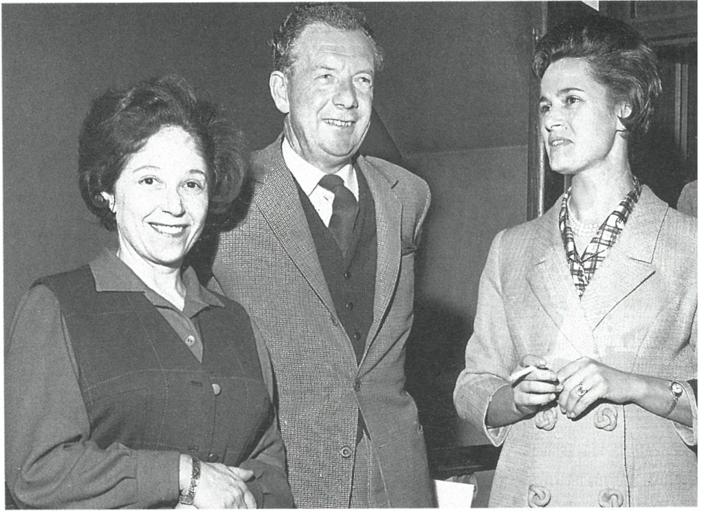 Fanny Waterman, Benjamin Britten and Marion Thorpe