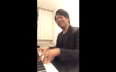 Lang Lang sends greetings to Dame Fanny on her 100th Birthday